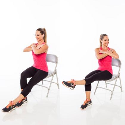 Seated Full Body Workout Routine Shape Magazine