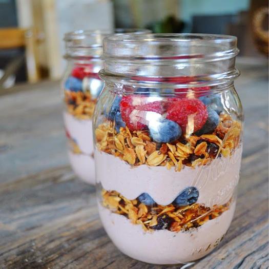 healthy yogurt fruit dip acai fruit