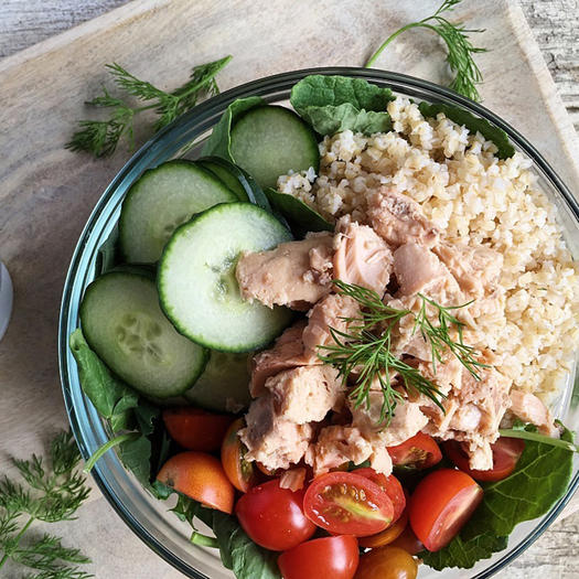 Can salmon recipes