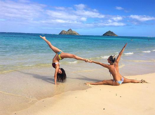 positions nude yoga Easy
