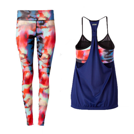 Hit the ground running with the latest in activewear! It's so important to choose sweat-wicking and comfortable workout gear whether you're heading to the gym, yoga class, or a surf sesh! Start with a comfortable base layer like a sports bra and a pair of active leggings, and layer up with shorts, crop tops and jackets depending on your workout situation.