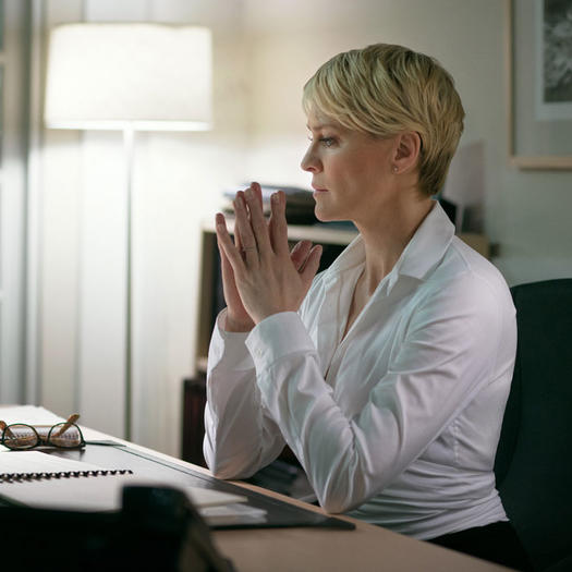 Robin Wright Haircut: House Of Cards Claire Underwood Life Lessons