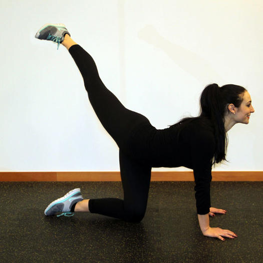 Balance Ball Kick: Keri Russell's Self-Defense Workout From Her Trainer For