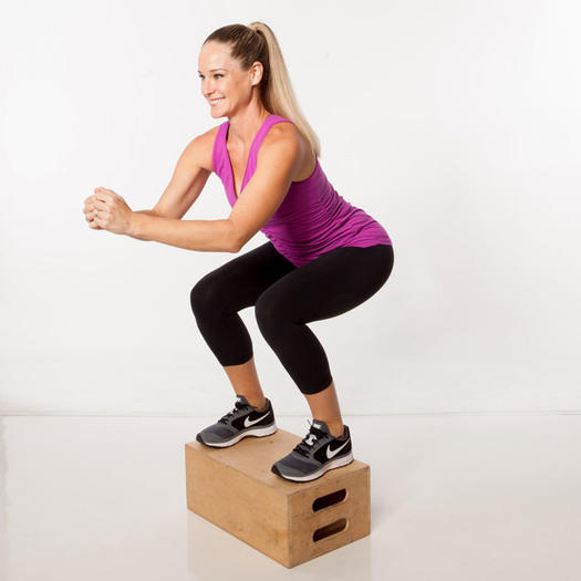 Aerobic Step Up Boxes: Step-It-Up Plyometric Total Body Workout