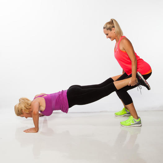 Bodyweight Partner Workout for Two People | Shape Magazine