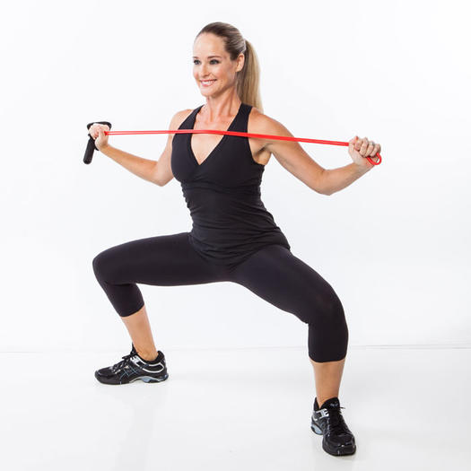 Exercise Bands Hips: 5-Minute Tabata Workout