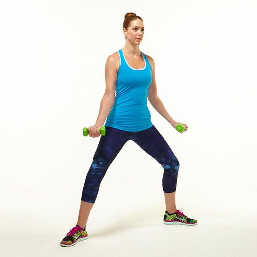 Chest Press Pulse 1 2 3  Exercise Howto  Workout