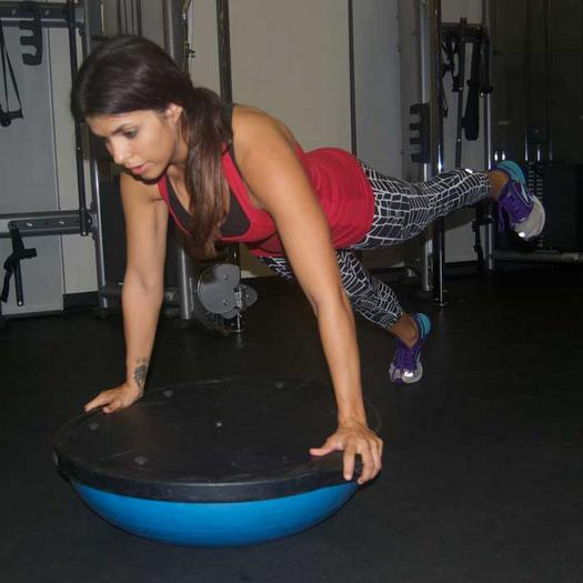 Bosu Ball Side Plank: Ab Workout: 10 Plank Exercise Variations For A Strong