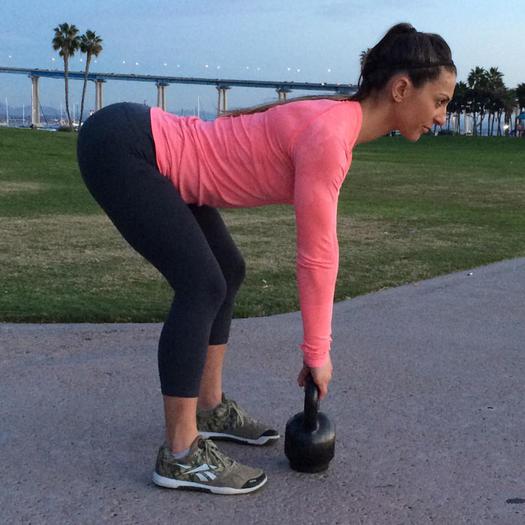 Exercise Kettlebell Deadlift: Kettlebell Workout: 7 Full Body Exercises To Burn Fat In