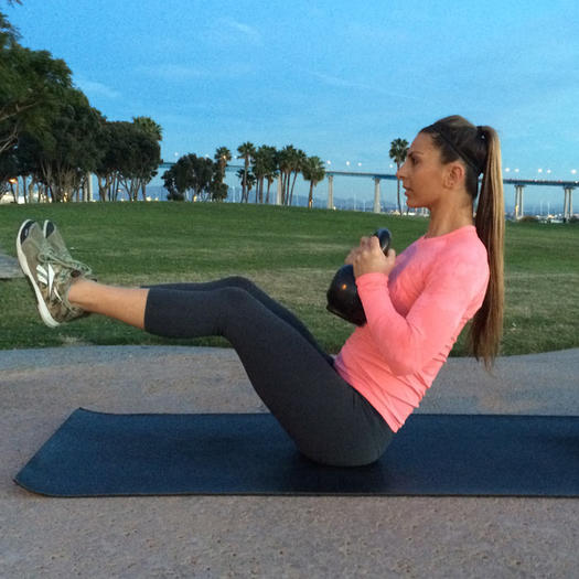 Kettlebell Workout: 7 Full Body Exercises To Burn Fat In