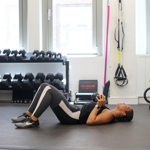Exercise Of The Week Dumbbell Floor Press: The Essential Heavy Dumbbell Workout For Women