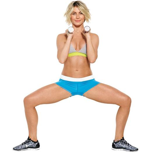 Celebrity Workout: Julianne Hough and Astrid Swan McGuire ...