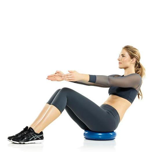 V Sits Exercise Disc Exercises:...