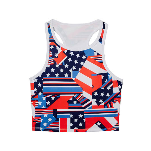 Pleasant Activewear Red White And Blue Workout Clothes For Fourth Of Hairstyles For Women Draintrainus