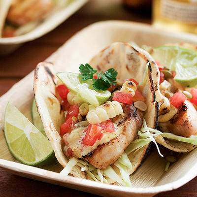 your Weight Loss Program with Mexican foods - Grilled Fish Tacos