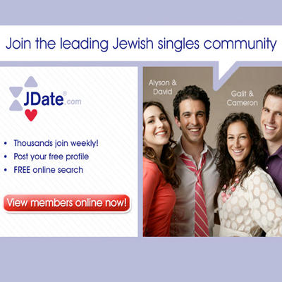 francitas jewish dating site Searching for a date, friend or love of your life please, visit cupidcom, become a member of our online dating services and meet with great jewish singles who are.