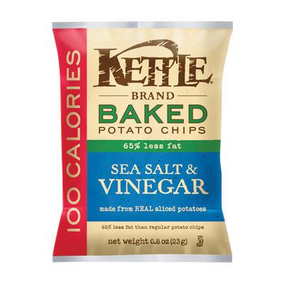 Kettle Brand Sea Salt & Vinegar Baked Potato Chips