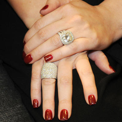 engagement ring trend radiant - Khloe Kardashian Wedding Ring
