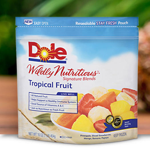 dole frozen fruit fruit calories
