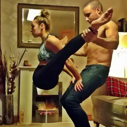 Instagram Photos Of Incredible Partner Workouts Shape