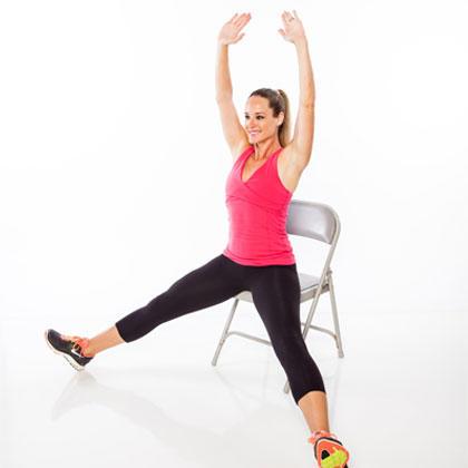 Seated FullBody Workout RoutineShape Magazine