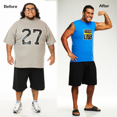 Best of the Biggest Loser Before and Afters ... - Wetpaint