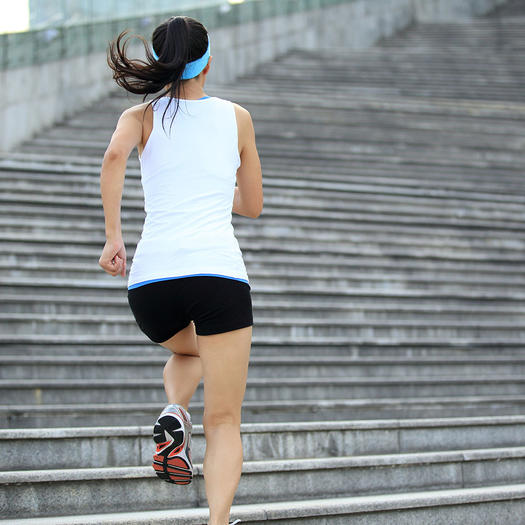 A Runner Shapes Up A Tired Staircase: How To Improve Running Form: What's Good Running Form