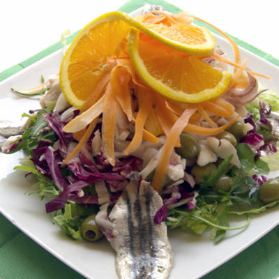 your Weight Loss Program with Mexican foods - Seafood Salad