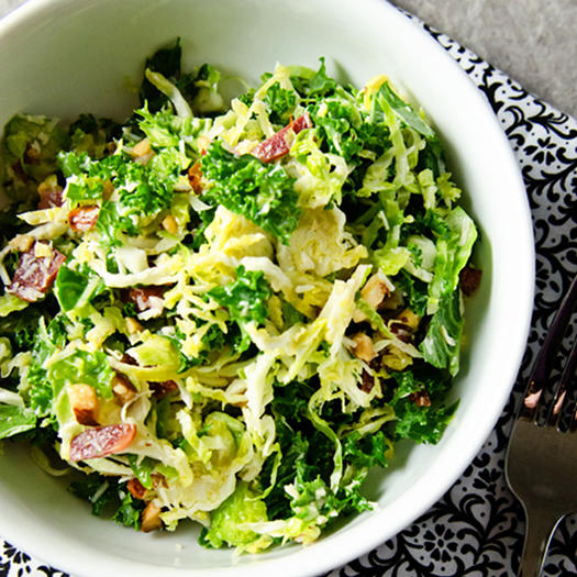 10 seriously addictive brussels sprouts recipes shape for Shredded brussel sprout salad recipe
