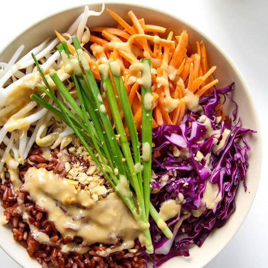 thai style buddha bowl ~ buddha recipes