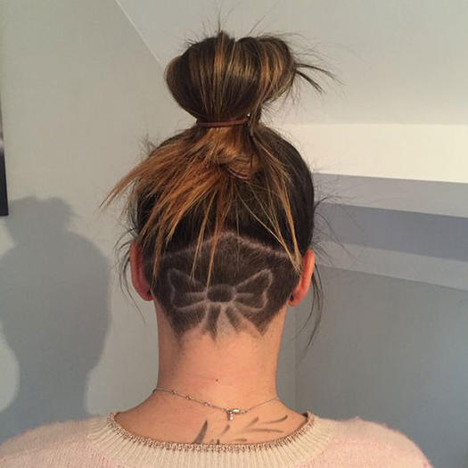 Strange The Undercut Is The Fit Girl Hair Trend You Need To Try For Summer Hairstyles For Women Draintrainus