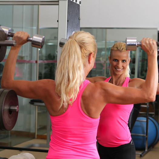 female fitness trainers workout tips and photos shape