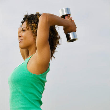 Weight lifting to avoid weight gain