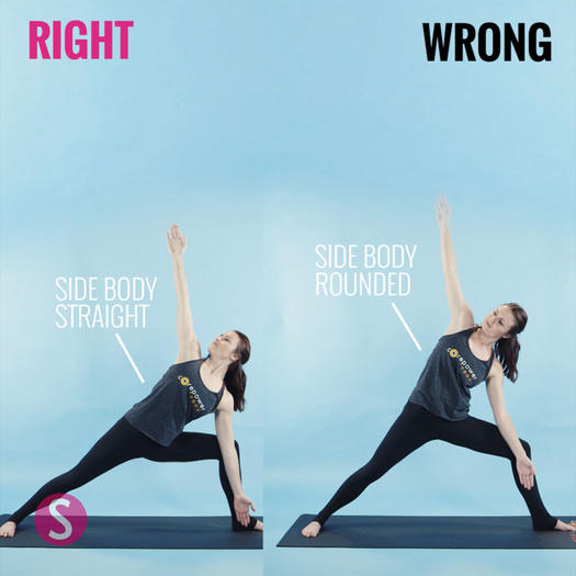 How to do extended side angle pose yoga