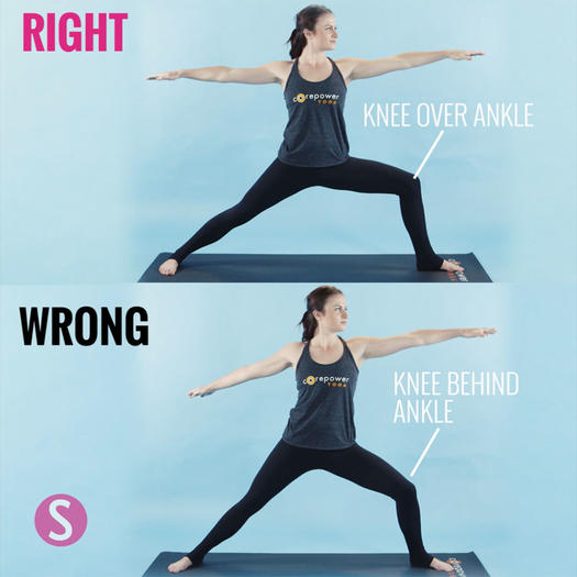 How to do warrior II in yoga