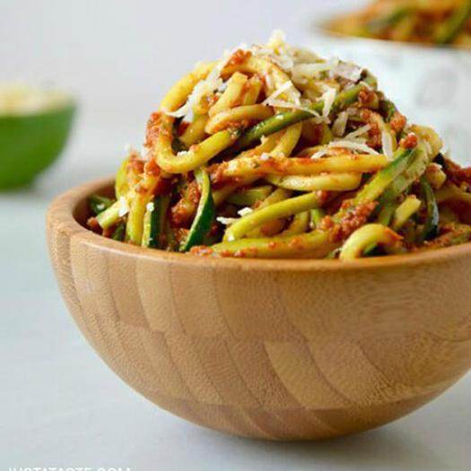 baked spaghetti squash with pesto and parmesan twice baked spaghetti ...