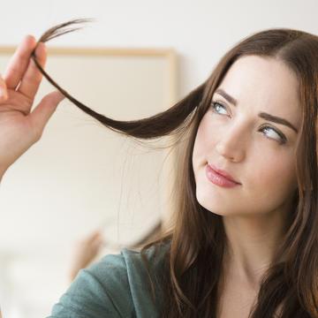 Brazilian keratin hair treatment