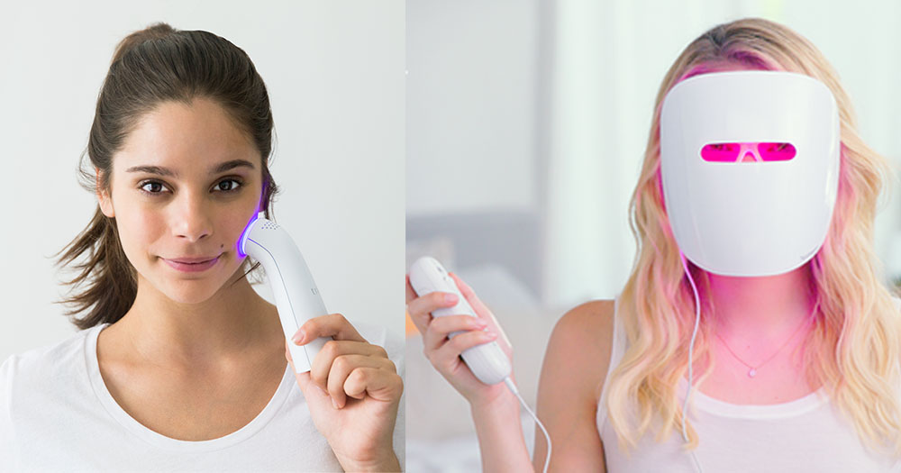 Can At Home Blue Light Devices Really Clear Acne Shape