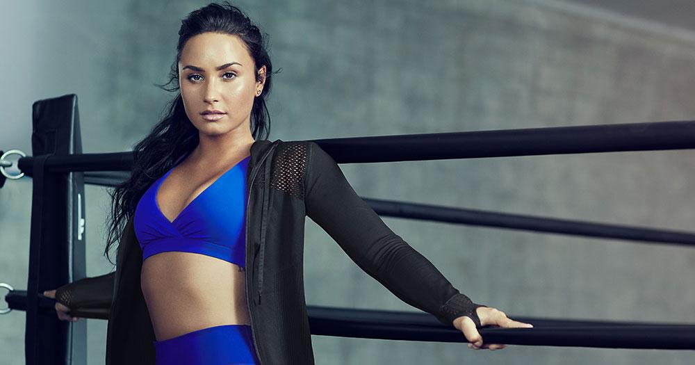 Demi Lovato Fabletics Fall Collection
