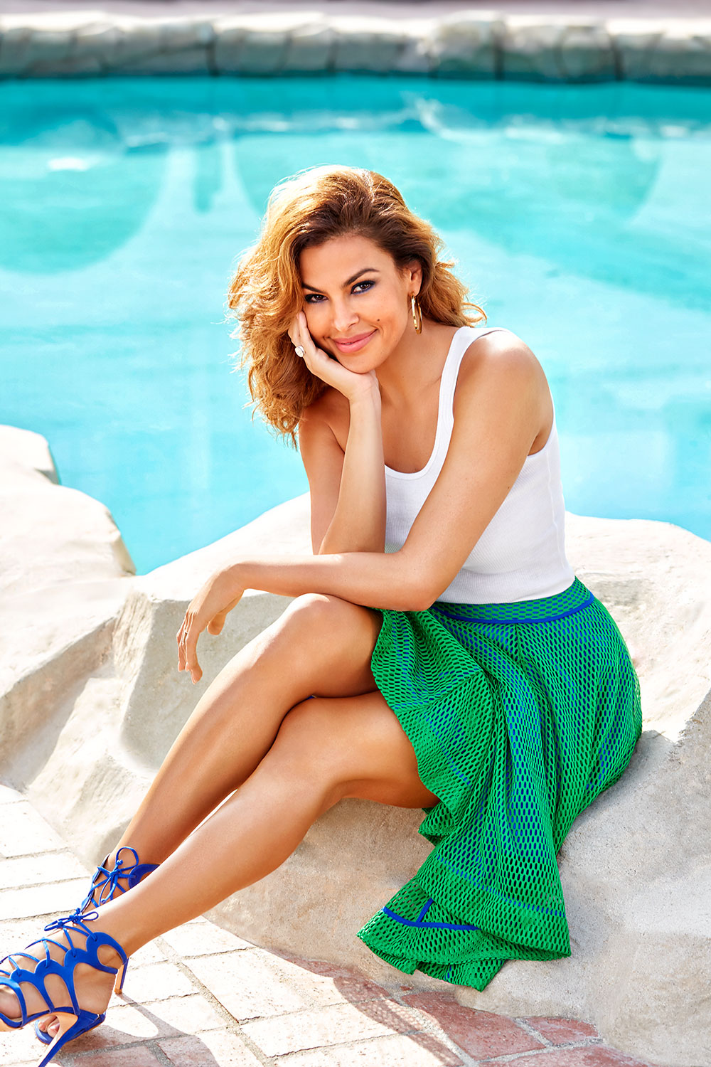 Eva Mendes Shares the ...