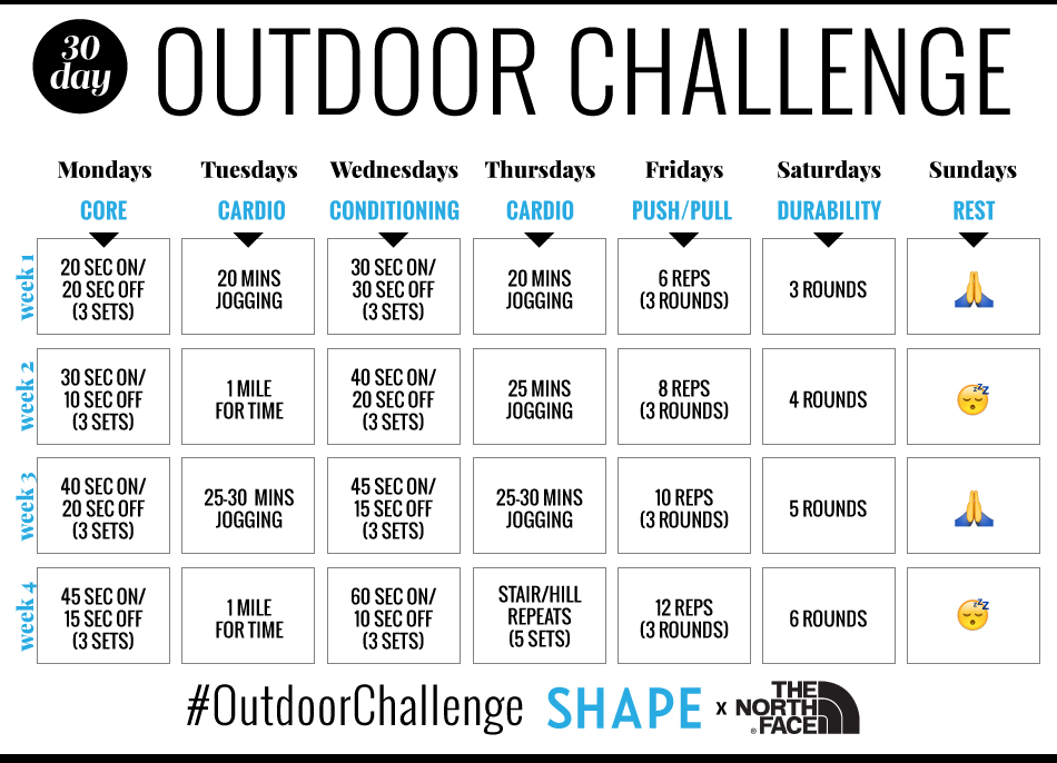 This 30-Day Outdoor Circuit Training Challenge Will Amp Up Your ...