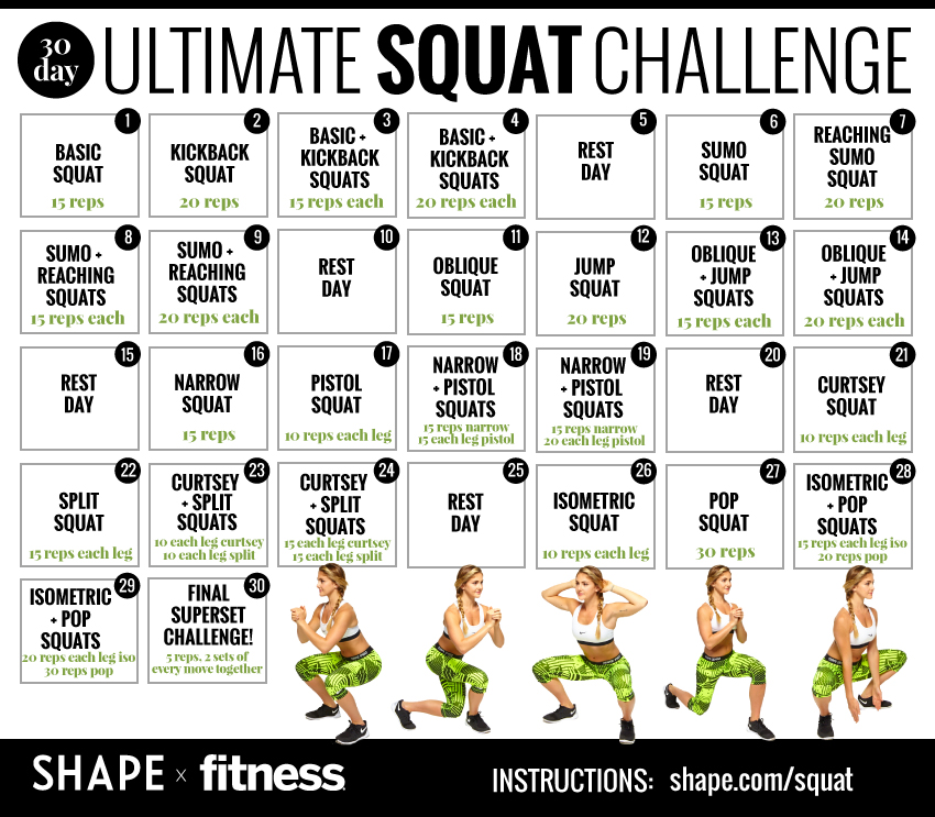 Does the 30 Day Squat ...