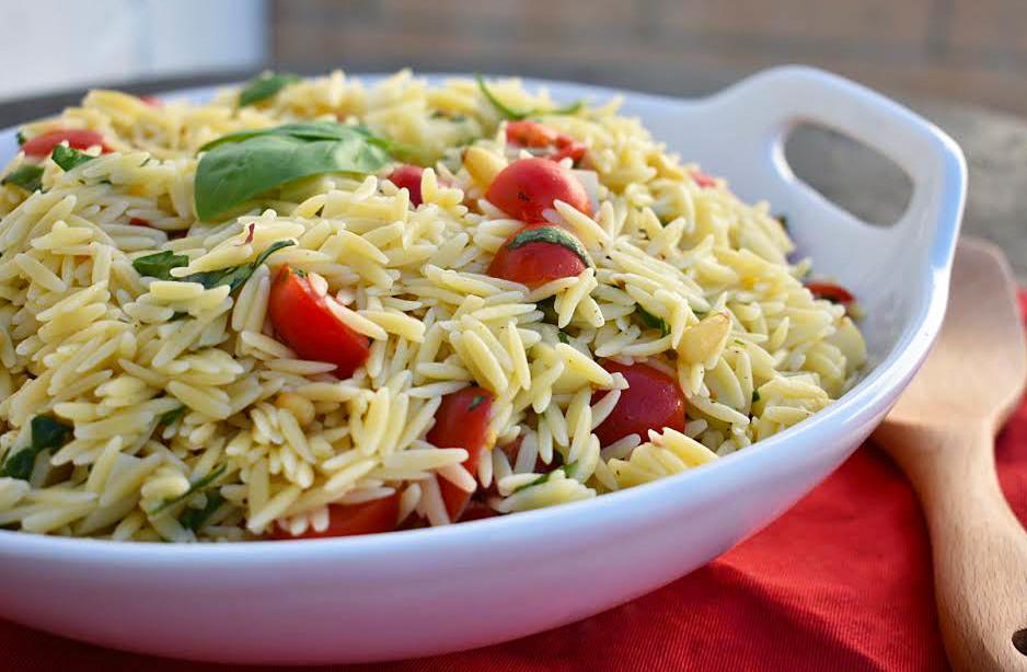 Orzo Caprese Pasta Salad 1 Jpg
