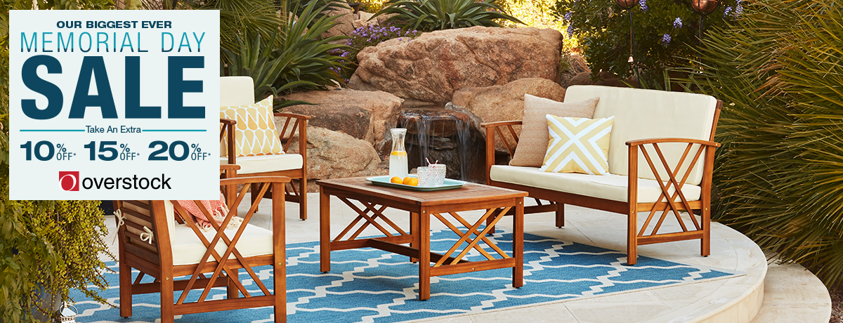 Save BIG on everything for your home through May 29th!