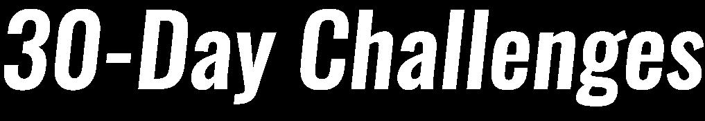30-Day Challenge | Shape Magazine