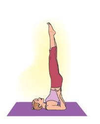 top 4 yoga posesfrom jennifer aniston's yogito help