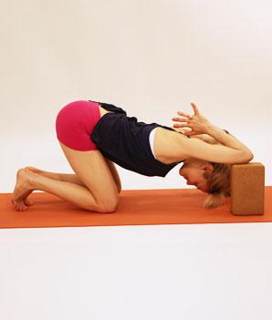 free yoga workout for self massage  shape magazine