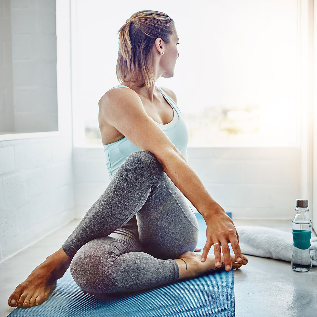 This At-Home PiYo Workout Strengthens and Stretches At the Same Time
