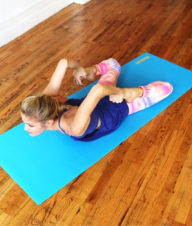 yoga workout for a sexy back  shape magazine