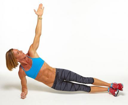 Low Side Plank with Hip Dips workout challenge